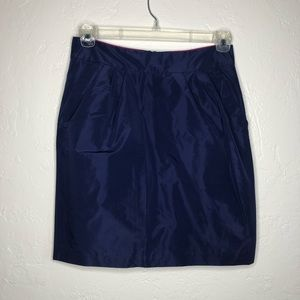 Banana Republic Navy pocket Mini Skirt